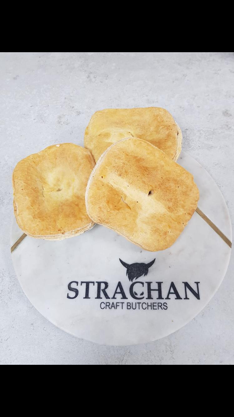 Individual Steak Pie - Strachan Craft Butchers